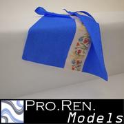 Towel - Blue 3d model