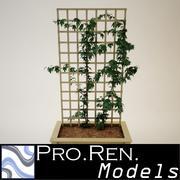 Usine pour intérieurs architecturaux type J 3d model