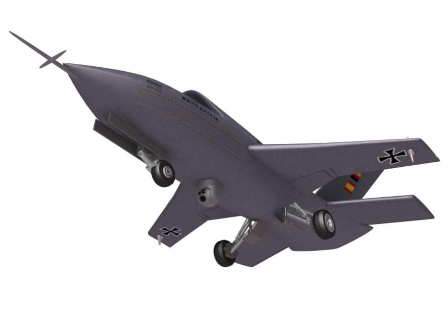 Barracuda UCAV royalty-free 3d model - Preview no. 5