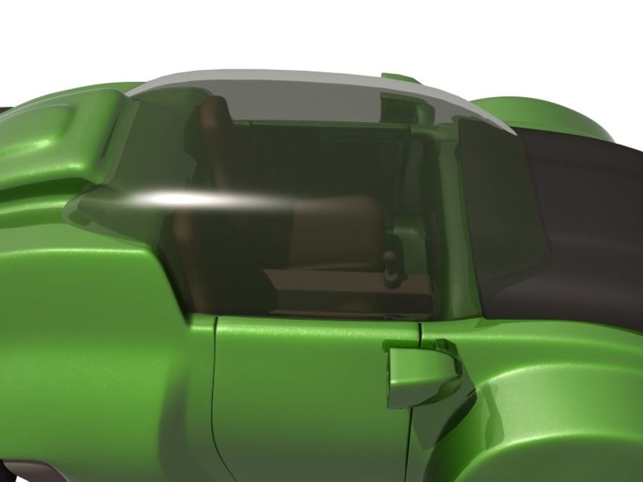 Concept car royalty-free 3d model - Preview no. 11