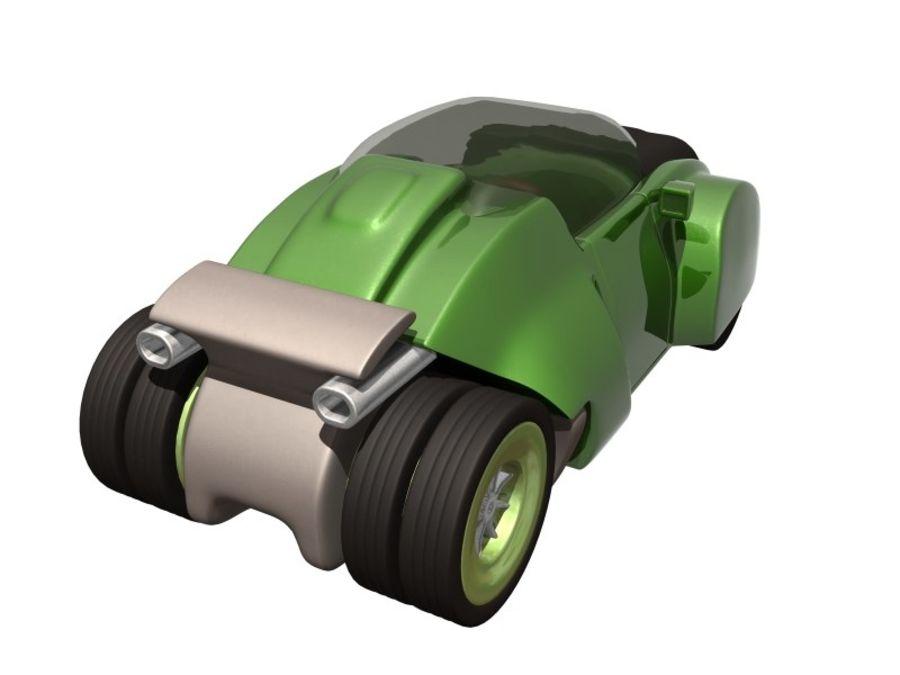 コンセプトカー royalty-free 3d model - Preview no. 9