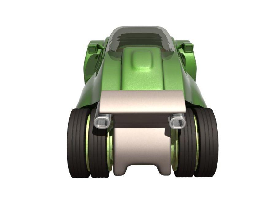 コンセプトカー royalty-free 3d model - Preview no. 8