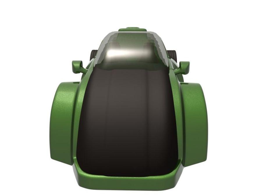 コンセプトカー royalty-free 3d model - Preview no. 2