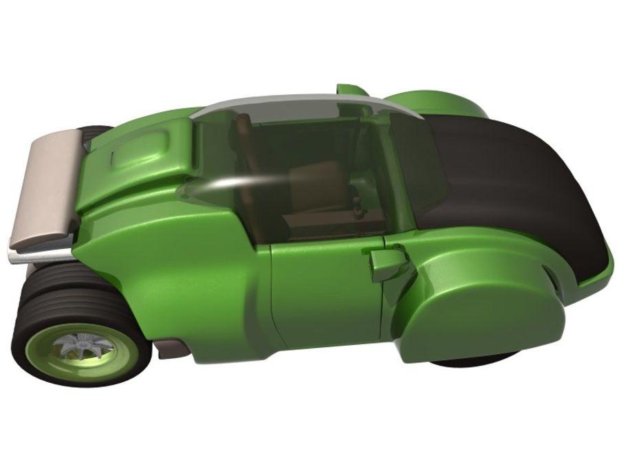 コンセプトカー royalty-free 3d model - Preview no. 10