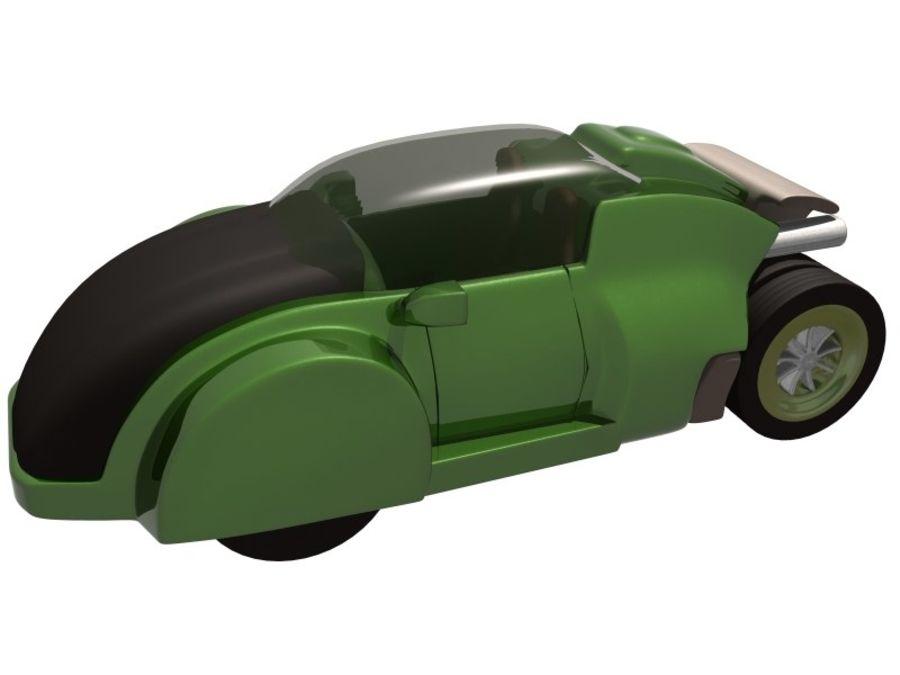 コンセプトカー royalty-free 3d model - Preview no. 5