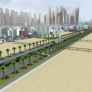Dubai weg 3d model