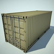 cargo container medium 3d model