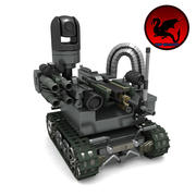 MAARS 전투 로봇 3d model