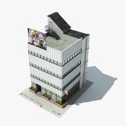 Small Japan Shop 3d model