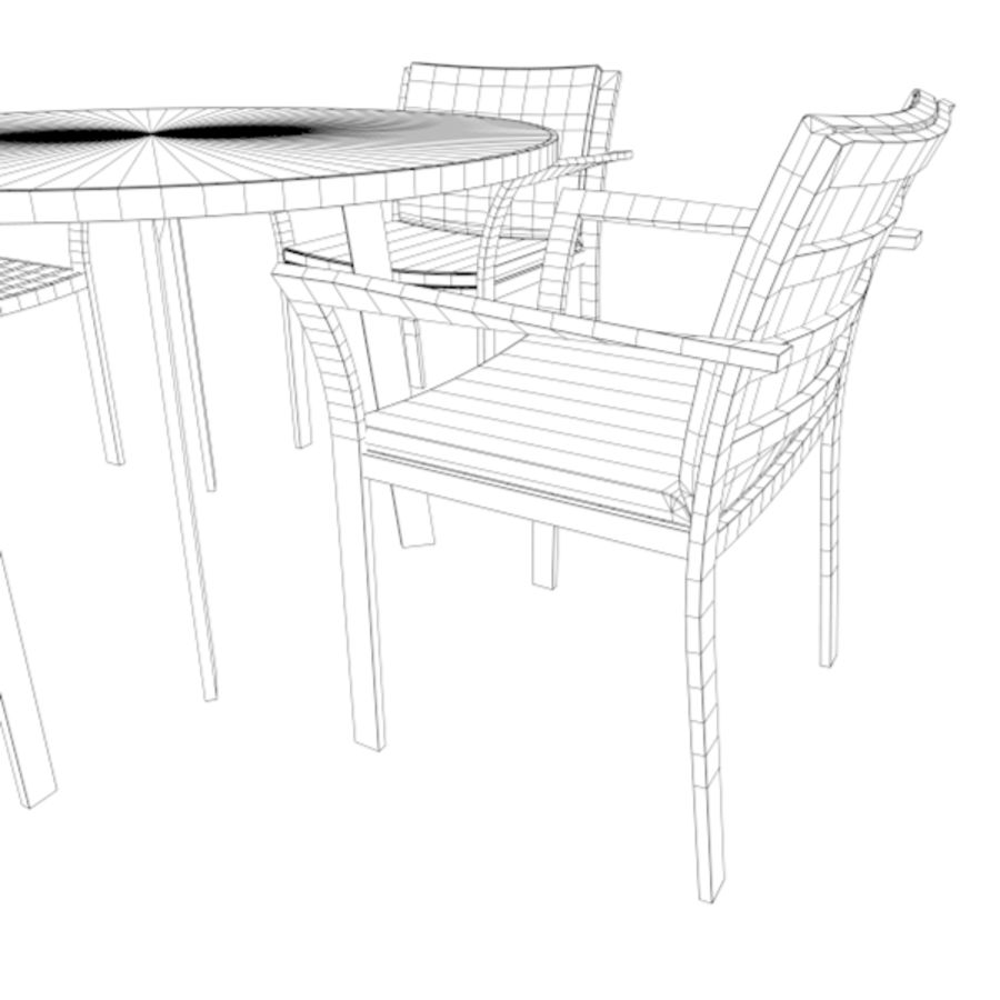 Light Furniture Set 01 royalty-free 3d model - Preview no. 7