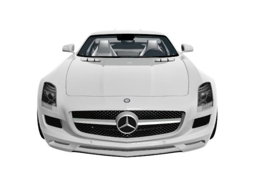 Merceds_SLS_AMG royalty-free 3d model - Preview no. 1