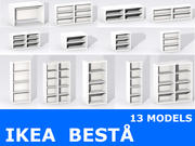 IKEA BESTA 3d model