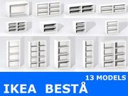 ИКЕА БЕСТА 3d model