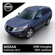 Nissan Pathfinder 2013 3d model