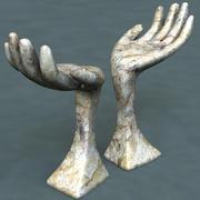Sculpture (hand) 3d model
