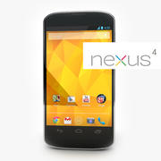 LG Google Nexus 4 3d model