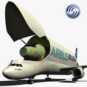 Airbus A300-600ST BELUGA 3d model