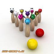 장난감 Skiitles 3d model