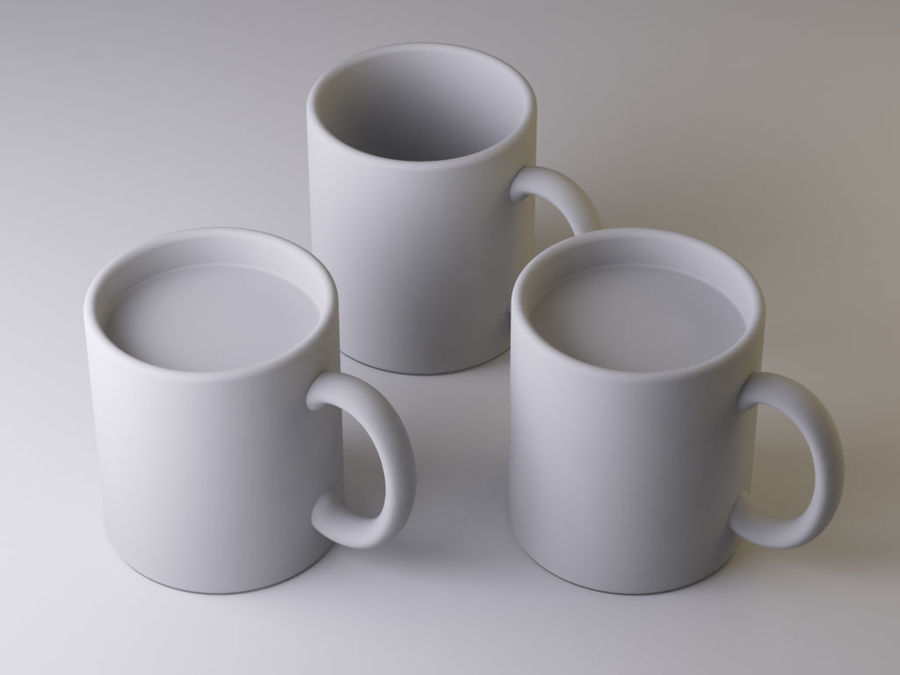 Mug royalty-free 3d model - Preview no. 5