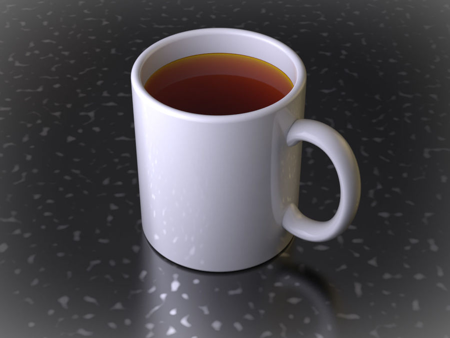 Mug royalty-free 3d model - Preview no. 3