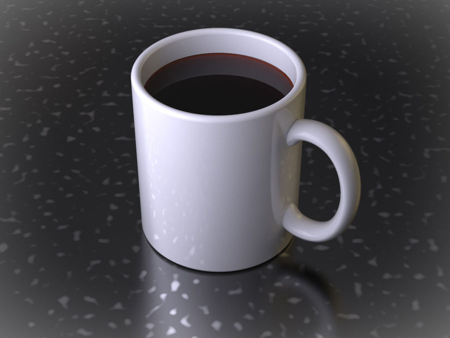 Mug royalty-free 3d model - Preview no. 4