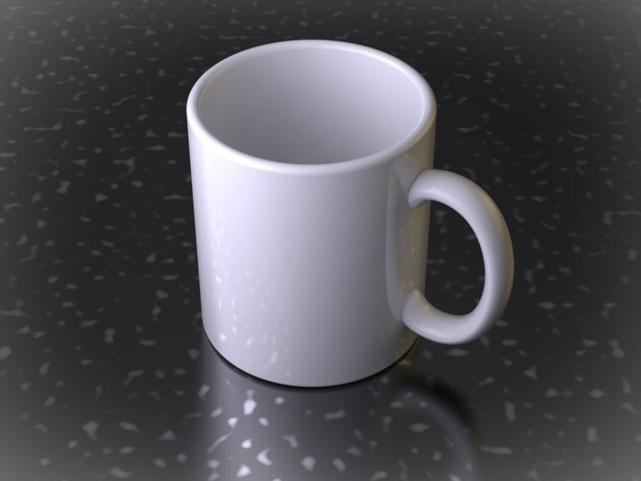 Mug royalty-free 3d model - Preview no. 2