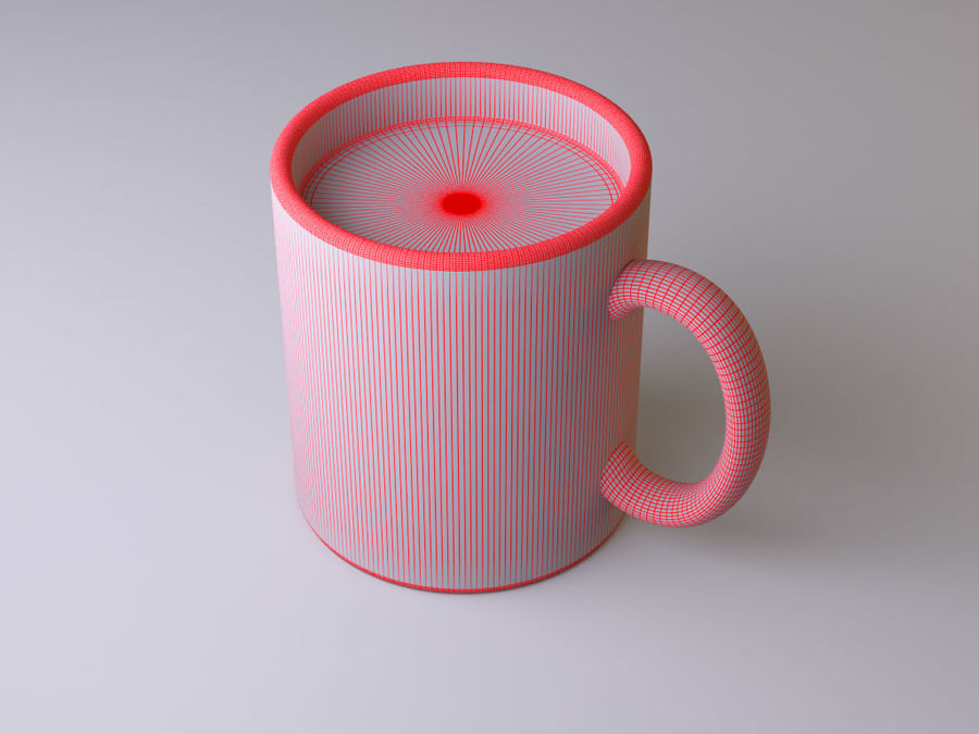 Mug royalty-free 3d model - Preview no. 6