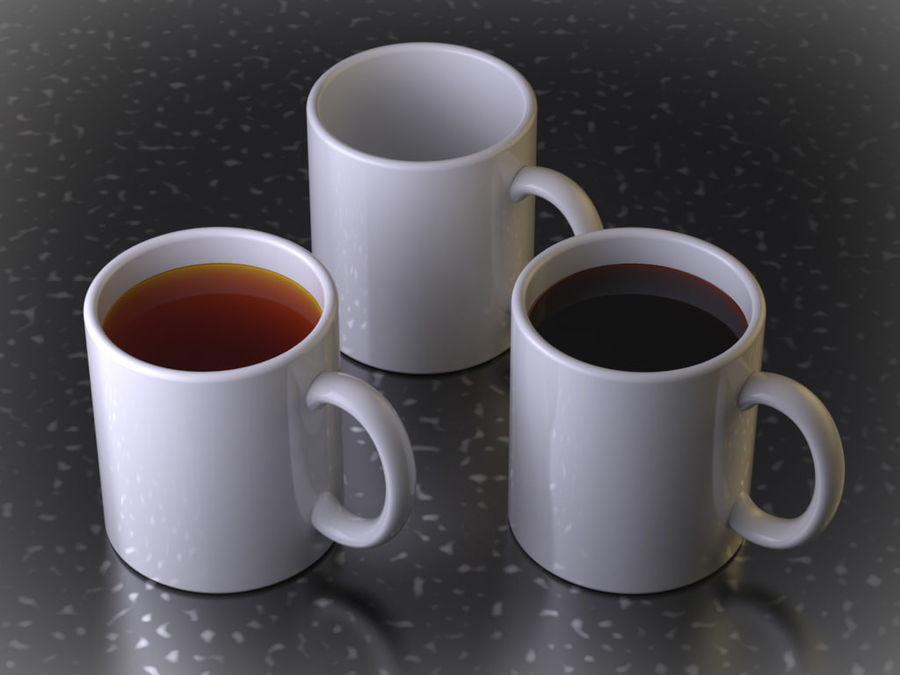 Mug royalty-free 3d model - Preview no. 1