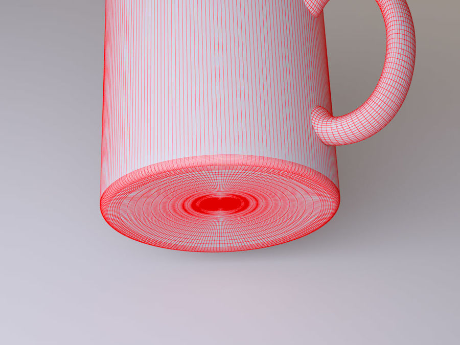 Mug royalty-free 3d model - Preview no. 8