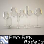 Glasses Collection 3d model