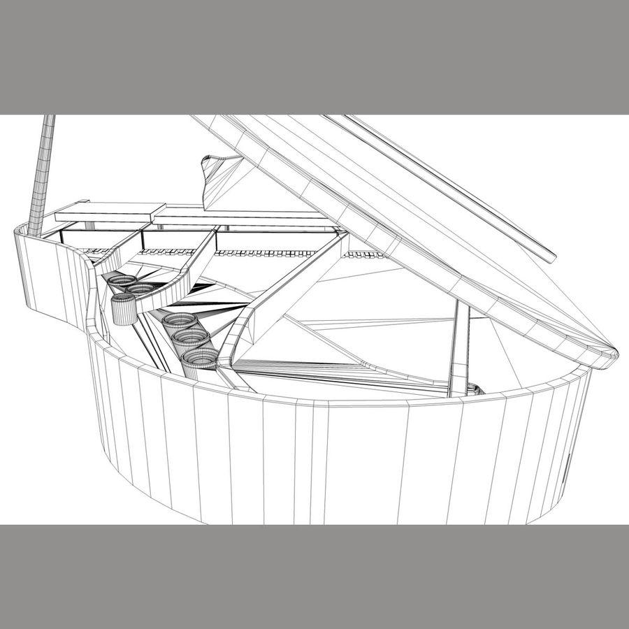 Flygel royalty-free 3d model - Preview no. 4