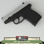G69- Gun Kel TEC P11 3d model