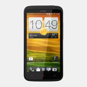 HTC One X + 3d model