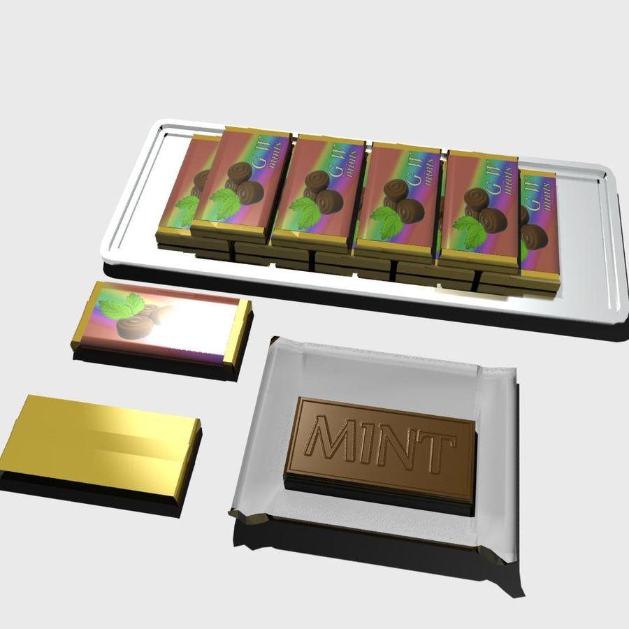 巧克力薄荷 royalty-free 3d model - Preview no. 2