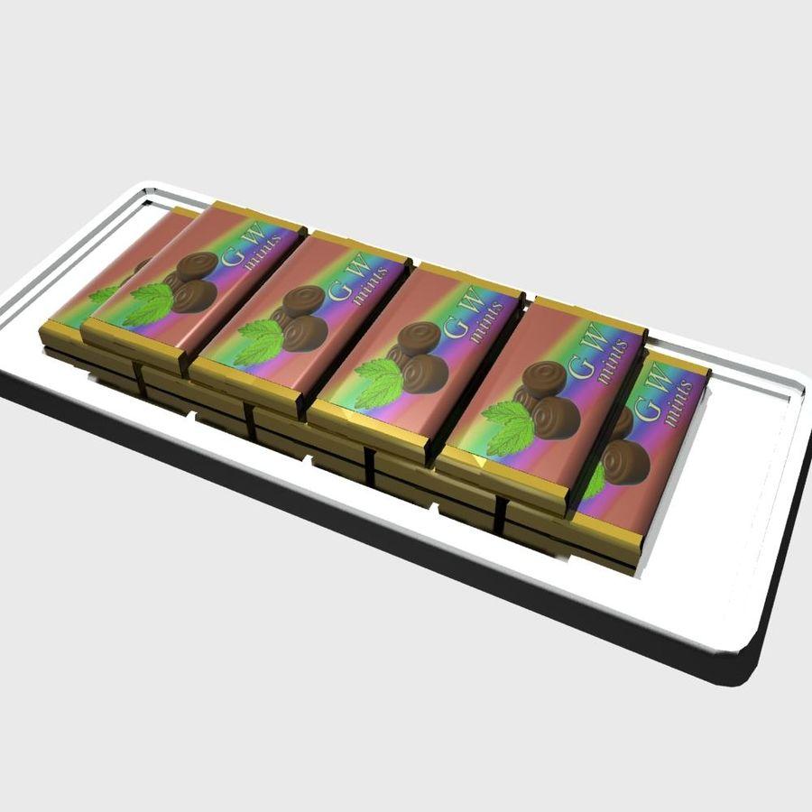 巧克力薄荷 royalty-free 3d model - Preview no. 6