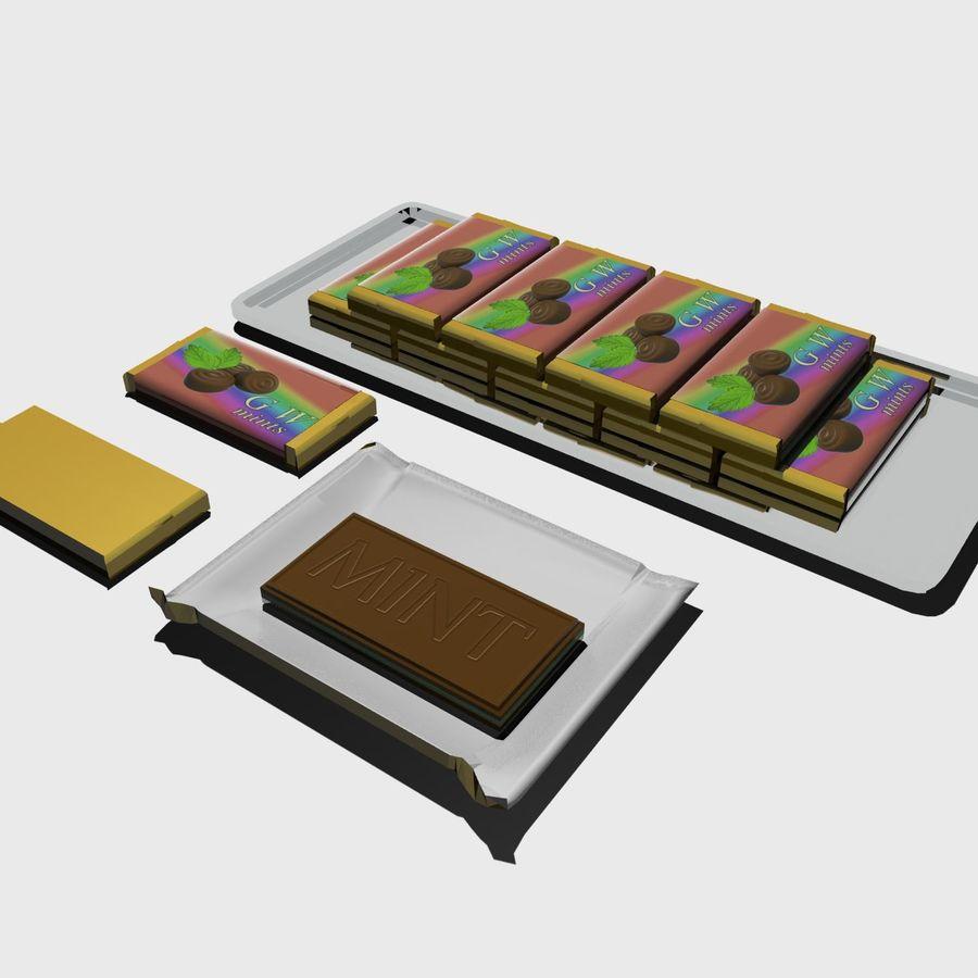 巧克力薄荷 royalty-free 3d model - Preview no. 1