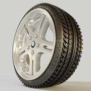 Wheel (rim and tyre) 3d model