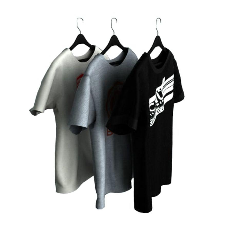 Camiseta en percha royalty-free modelo 3d - Preview no. 1