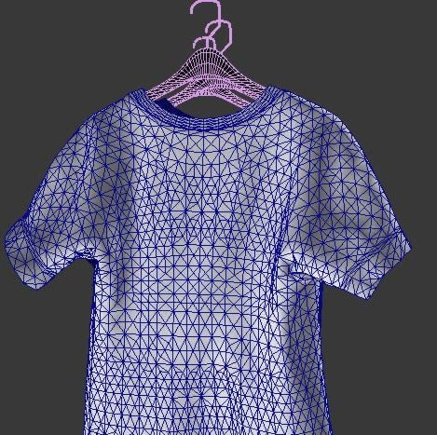 Camiseta en percha royalty-free modelo 3d - Preview no. 7