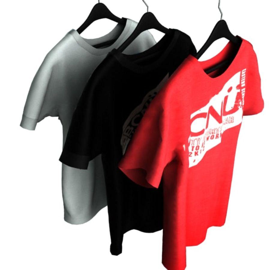 Camiseta en percha royalty-free modelo 3d - Preview no. 5