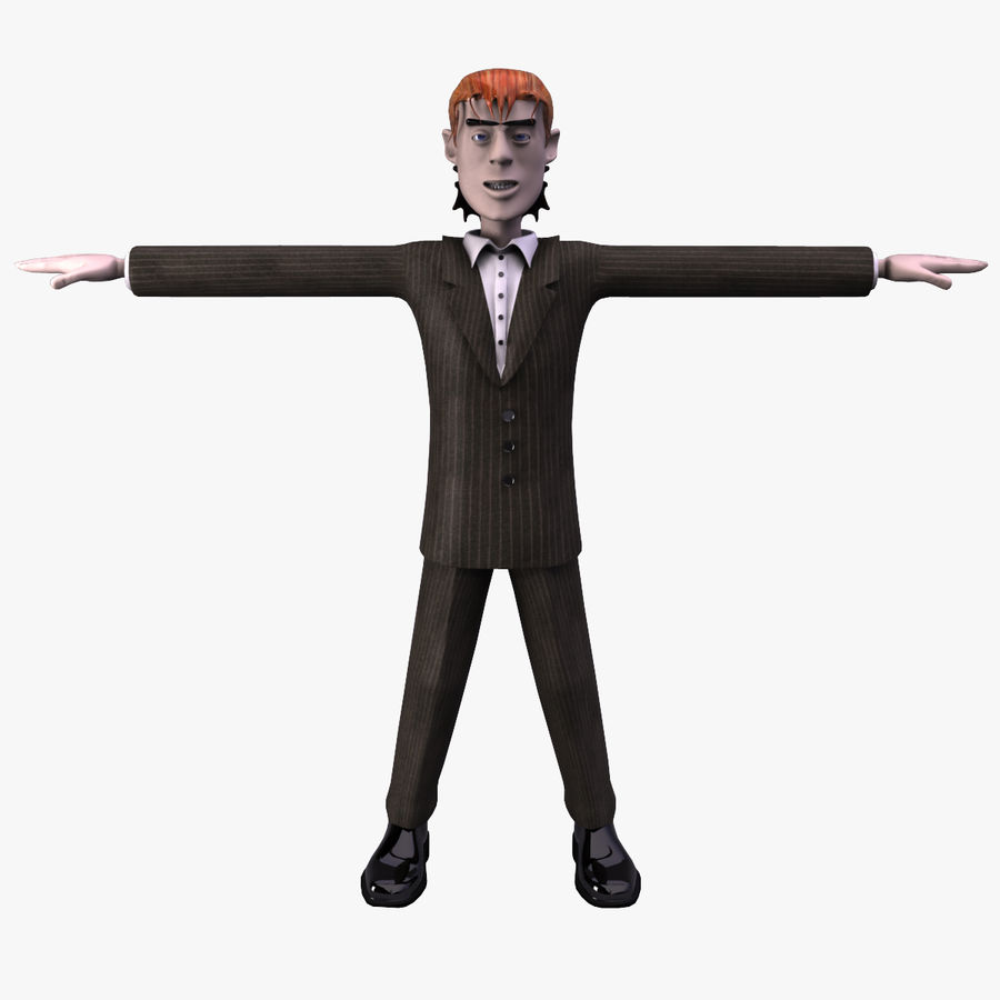 Man Character royalty-free 3d model - Preview no. 1