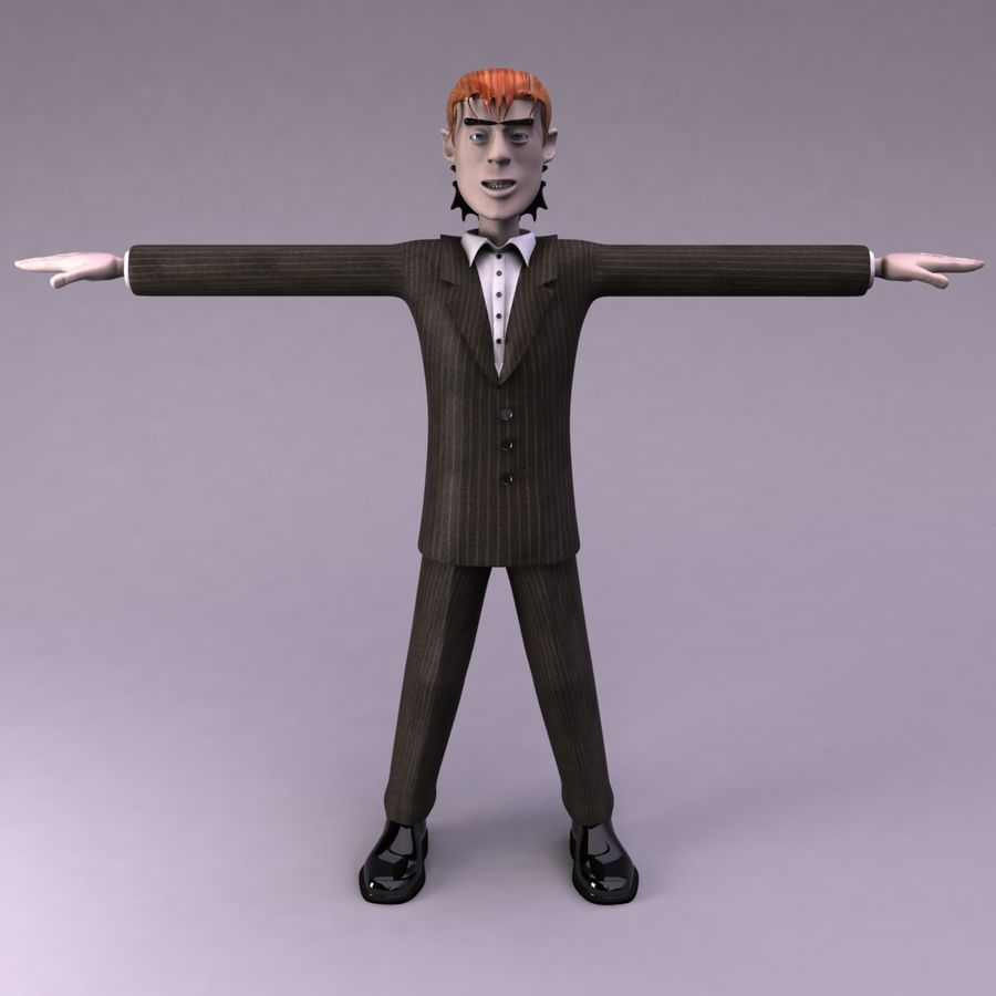 Man Character royalty-free 3d model - Preview no. 2