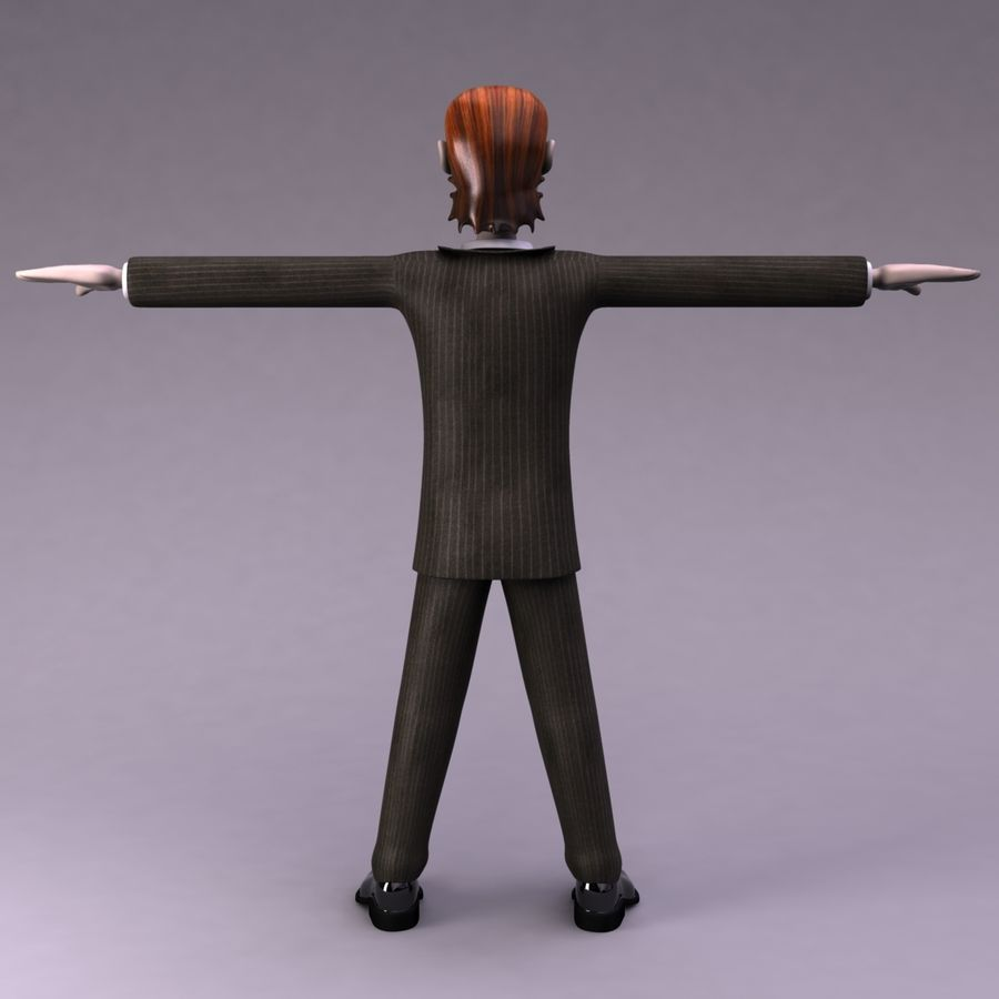 Man Character royalty-free 3d model - Preview no. 8