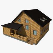 Holzhaus 3d model