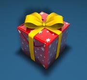 Kerstcadeau (2) 3d model