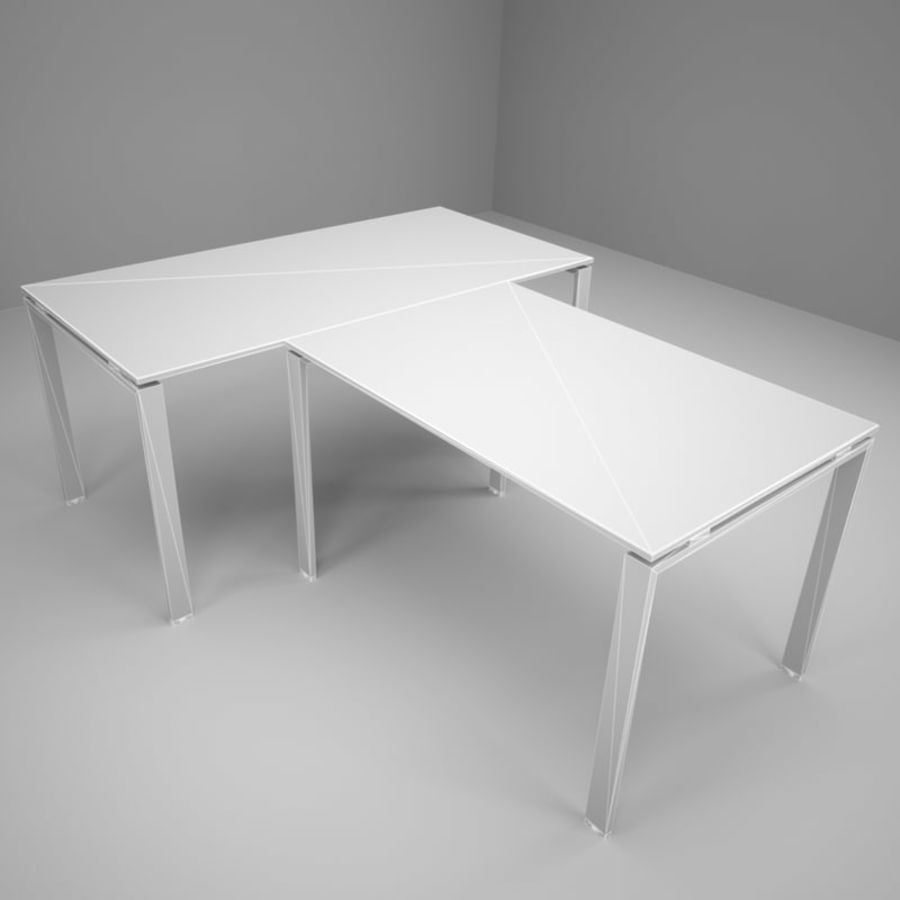 Office 128 royalty-free 3d model - Preview no. 3