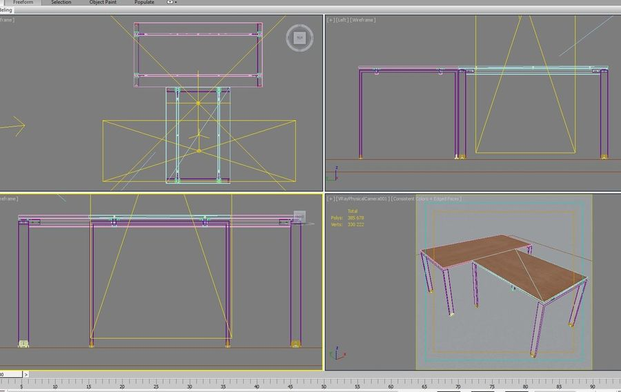 Office 128 royalty-free 3d model - Preview no. 14
