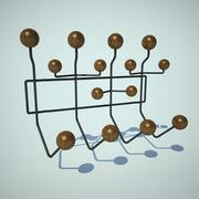 Charles Eames Hang-It-All 3d model