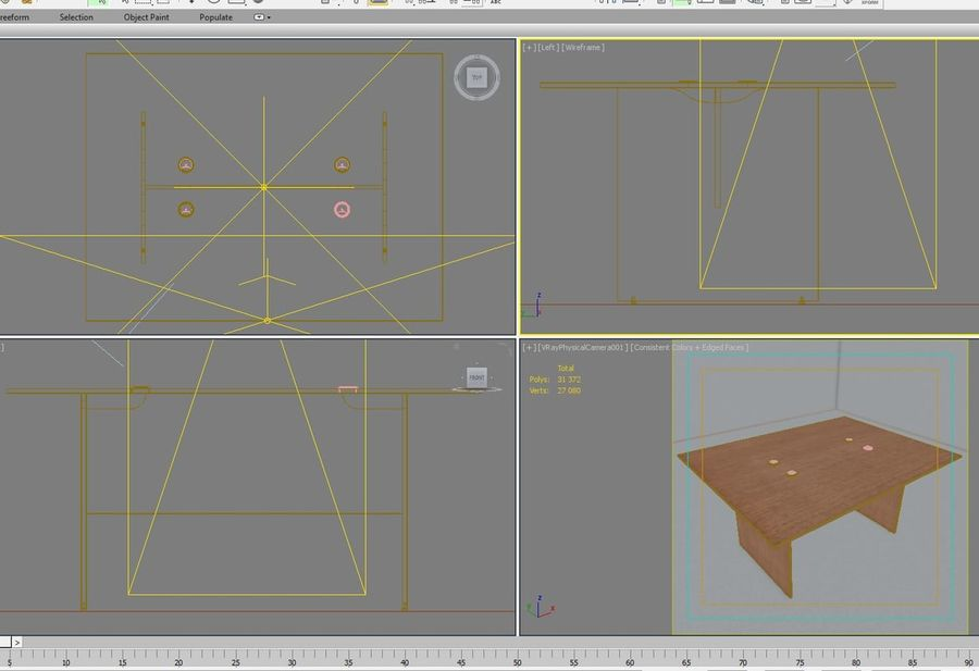Office 129 royalty-free 3d model - Preview no. 12