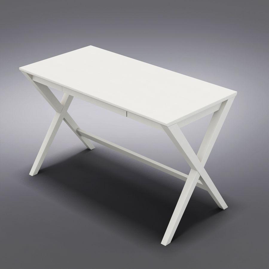 "Sandık ve Fıçı - Spotlight Ebony 58 ""Desk (2) royalty-free 3d model - Preview no. 9"